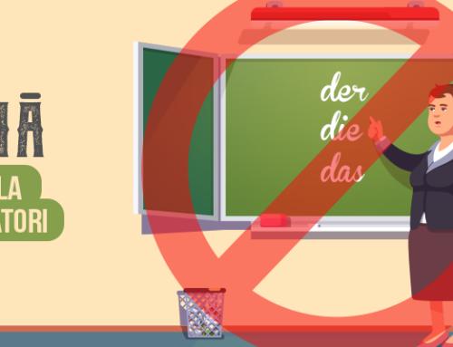 Au început înscrierile pentru cursul de începători la Gutenberg Sprachzentrum