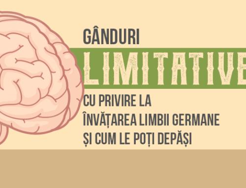 Gânduri limitative cu privire la învățarea limbii germane