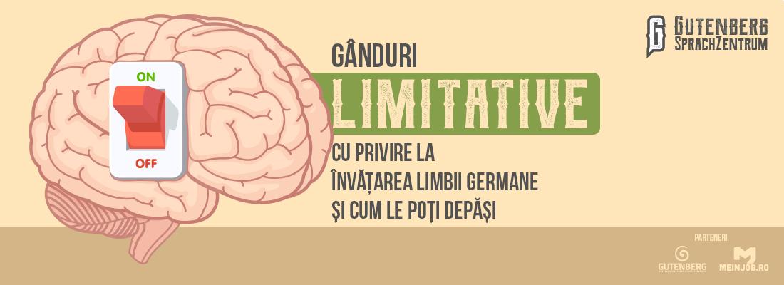 Gânduri limitative cu privire la învățarea limbii germane 1