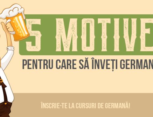 5 motive să înveți germană
