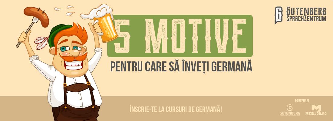 5 motive să înveți germană 1