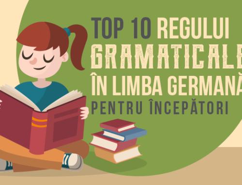 Top 10 reguli gramaticale ale limbii germane pentru începători