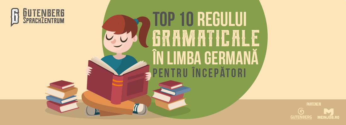 Reguli gramaticale in limba germana pentru incepatori