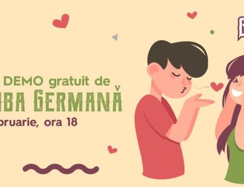 Curs demo gratuit de limba germana